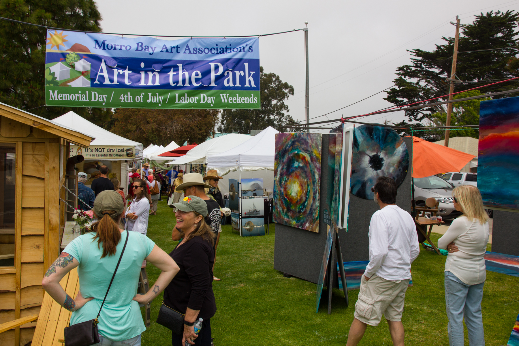 Image result for MEMORIAL DAY ART IN THE park morro bay
